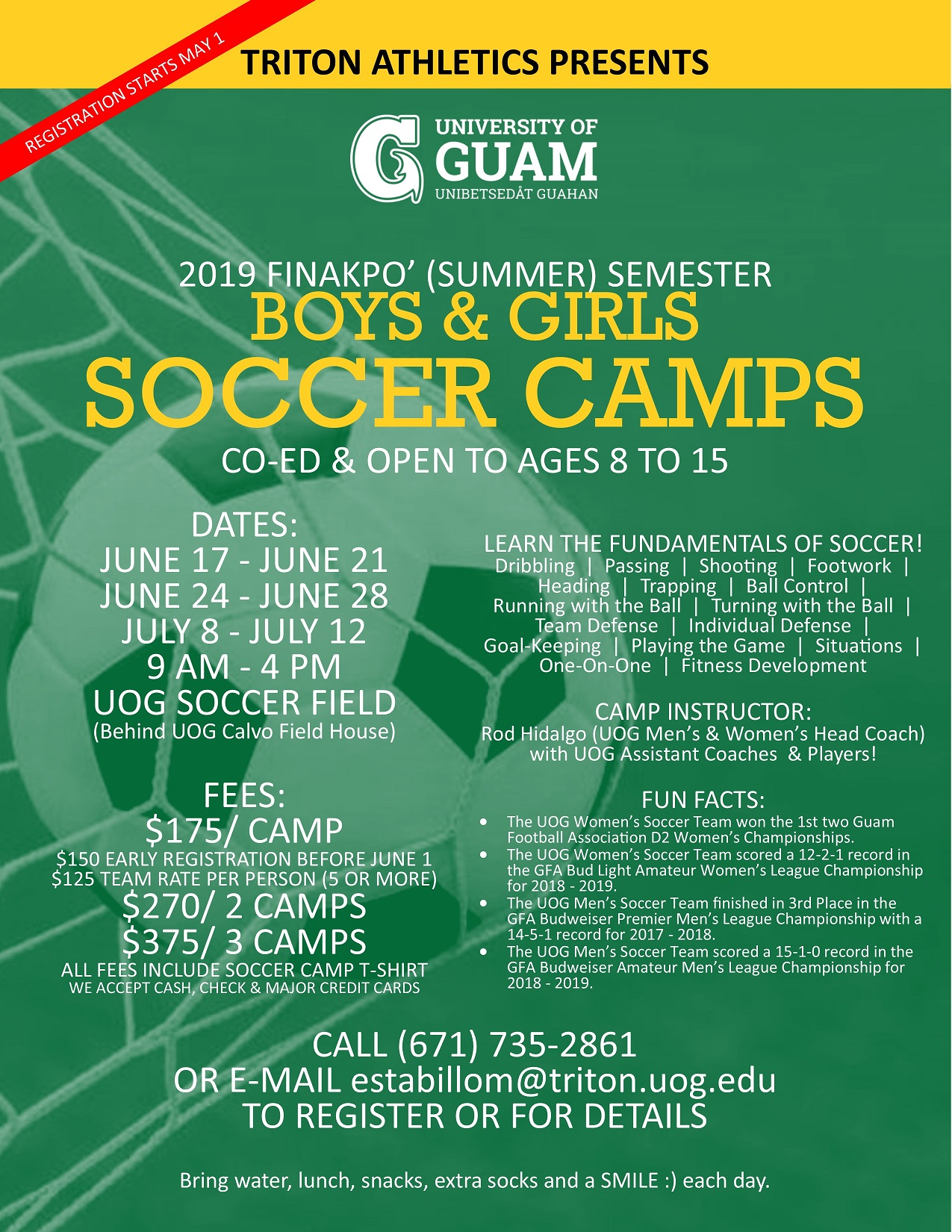 Triton Athletics Summer Camps