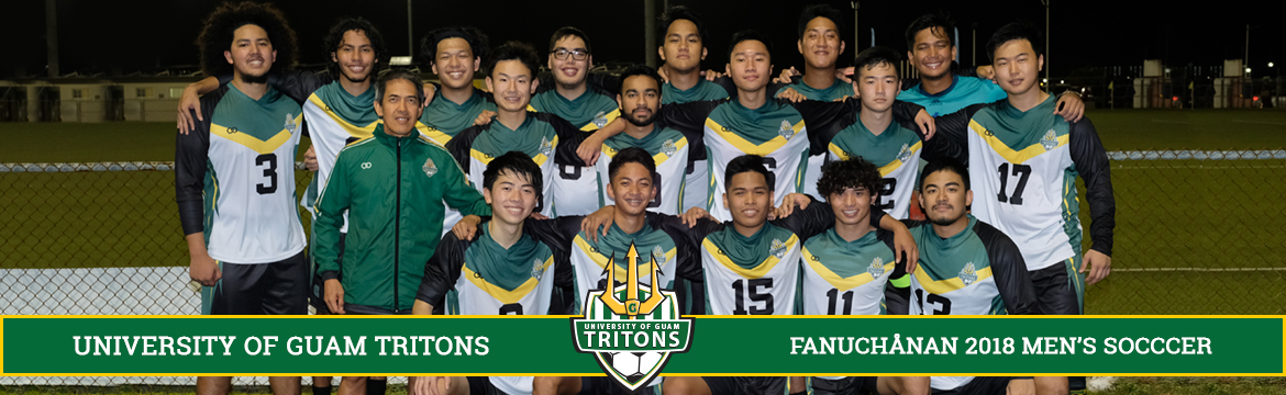 Men's Soccer Team Fall 2018