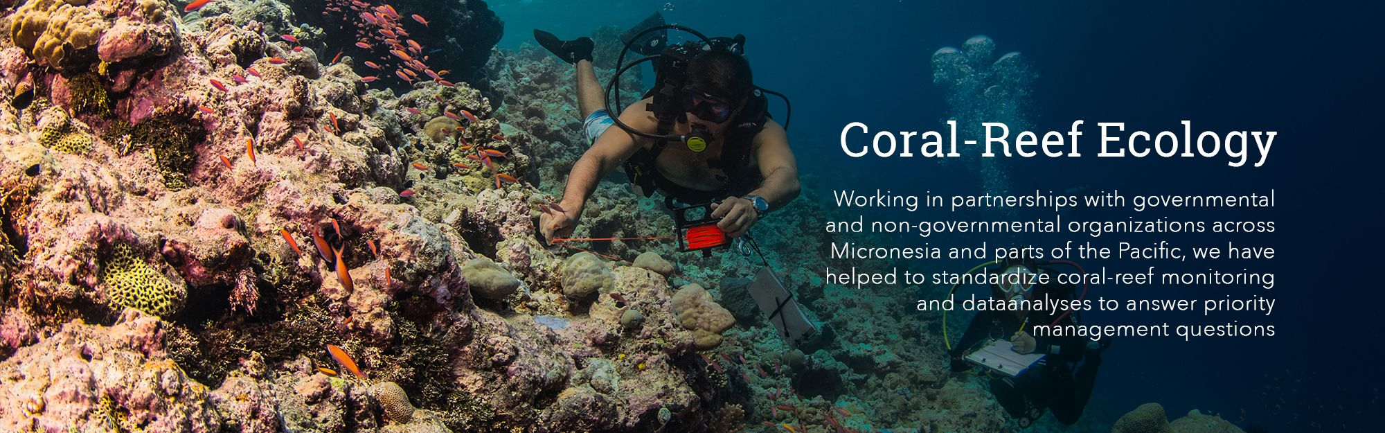 Coral-reef ecology