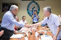 UOG and University of the Ryukyus Renew, Strengthen Partnership