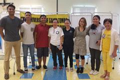 uog students, faculty reach out to guam's homeless